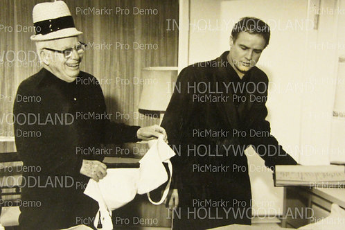 Marlon Brando & Charlie Chaplin