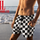 Thumbnail: Marilyn Monroe Checkered Emoji Luxury Shorts