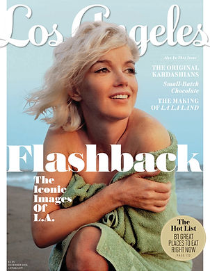 Marilyn Monroe, Los Angeles Magazine, INHOLLYWOODLAND, IHL, George Barris, Xavier Clemente