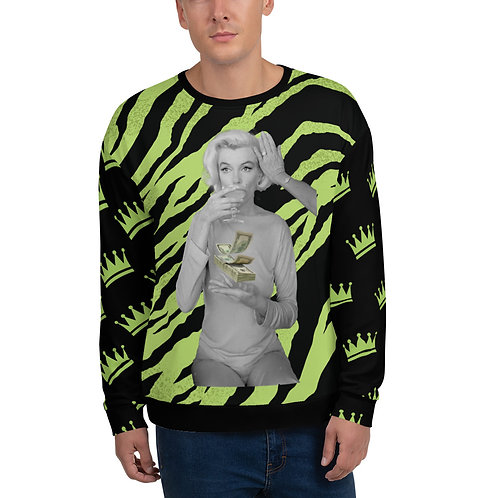 Marilyn Tiger $ Unisex Sweatshirt