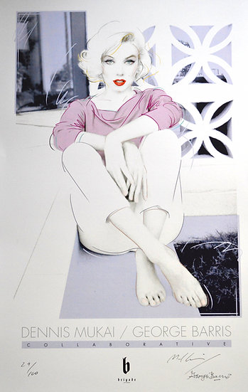 "Marilyn Monroe ""Reflect"" Poster"