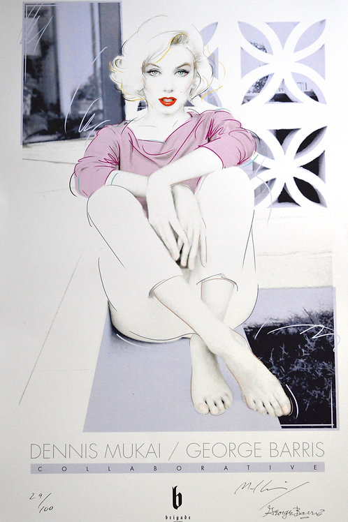 "Marilyn Monroe ""Reflect"" Poster"