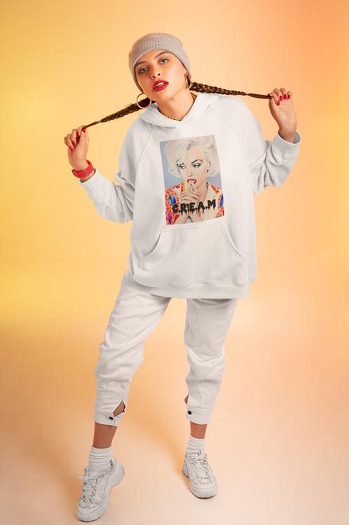 Marilyn Cream Unisex Hoodie