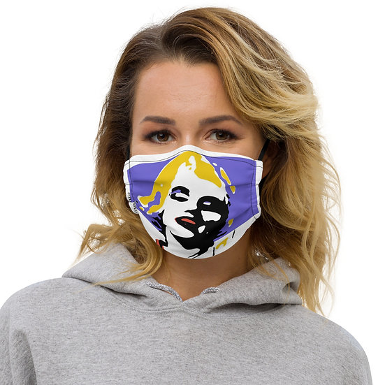 Marilyn Pop Art Premium Face Mask
