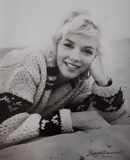 Marilyn Monroe All Smiles By George Barris