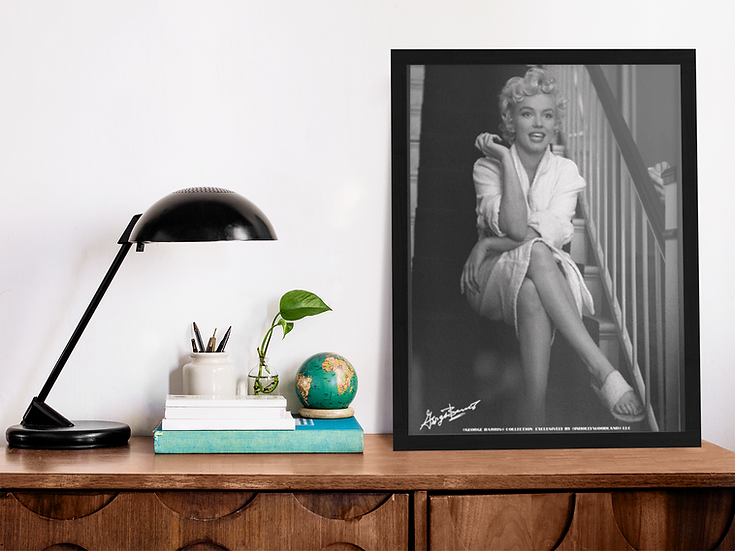 Marilyn Monroe The Seven Year Itch In Between Takes Framed Poster