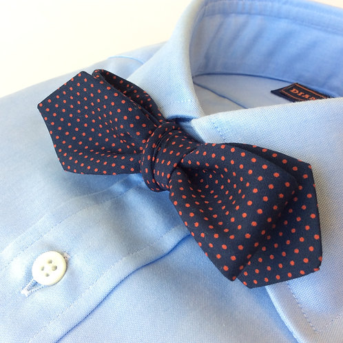 BOWTIE [Navy Red Pin-dots]