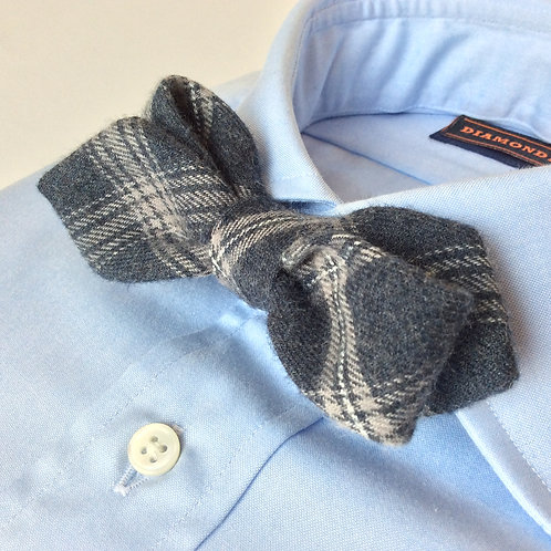 BOWTIE[Gray Plaid Flannel]