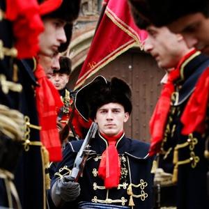 現代のクロアチア兵