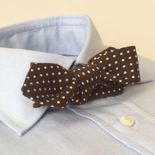 BOWTIE[Brown Dots]