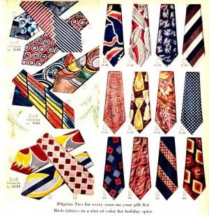 1940年代のネクタイ