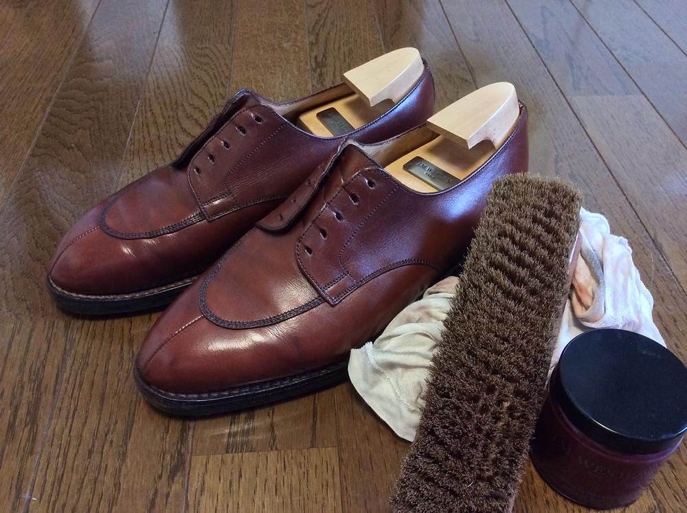 ボウタイ仕立屋流の究極靴磨き方法