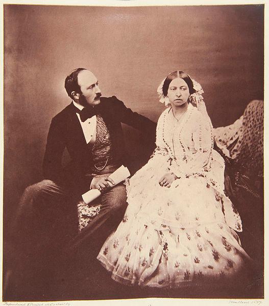 アルバート公とヴィクトリア女王