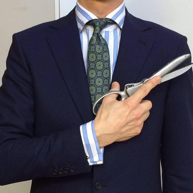 フランコバッシのネクタイ。-蝶ネクタイ専門店ダイヤモンドヘイク