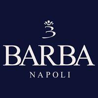 ナポリのシャツブランド、バルバのロゴ