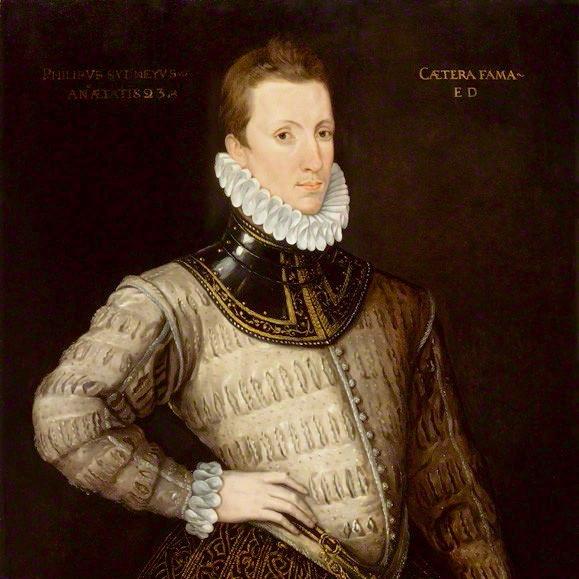 エリザベス女王の廷臣、また詩人であったサー・フィリップ・シドニー(1554-1586年)の肖像画