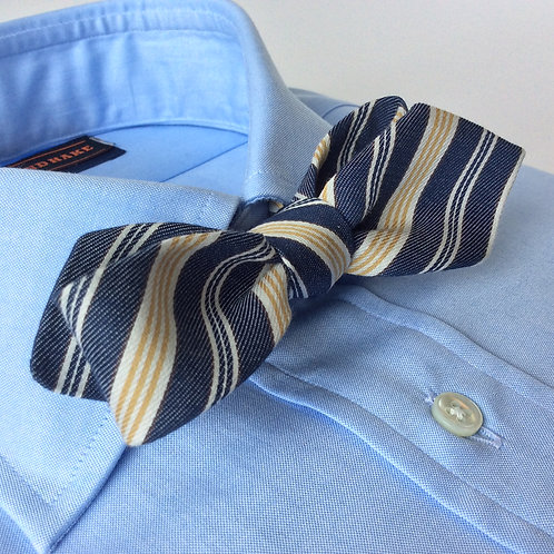 BOWTIE [Blue Yellow Stripe]