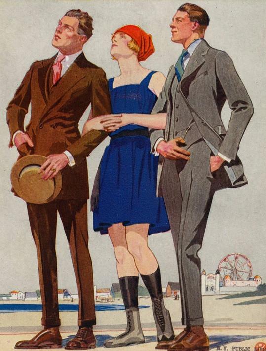 1920年代のスーツスタイル