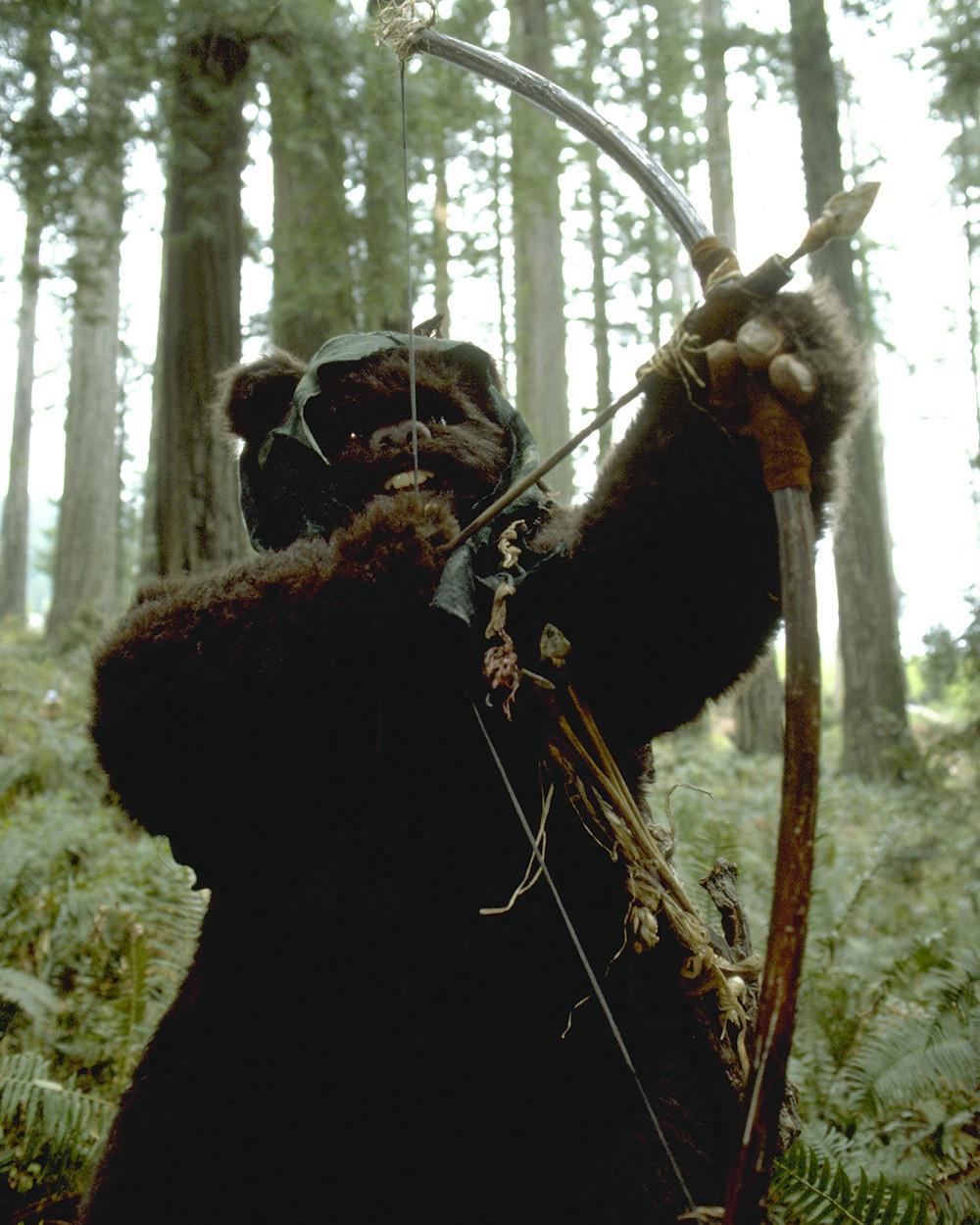 スターウォーズでイウォークが使っていた【bow】