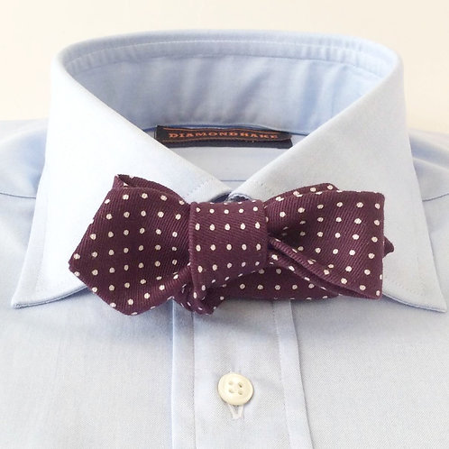 BOWTIE[Purple Dots]