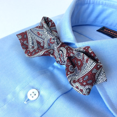BOWTIE[Antique Red Paisley]