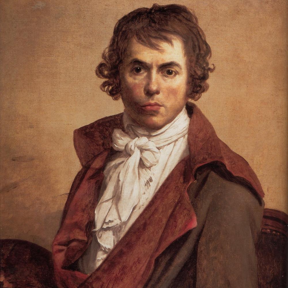 ジャック=ルイ・ダヴィッドの肖像画(1794年)