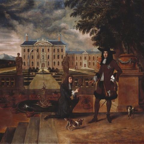 衣服改革宣言後のチャールズ2世