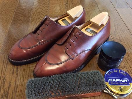 最高に気分がいい靴磨きの方法