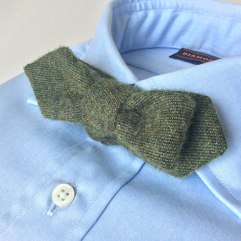 BOWTIE[Green Brushed Wool]