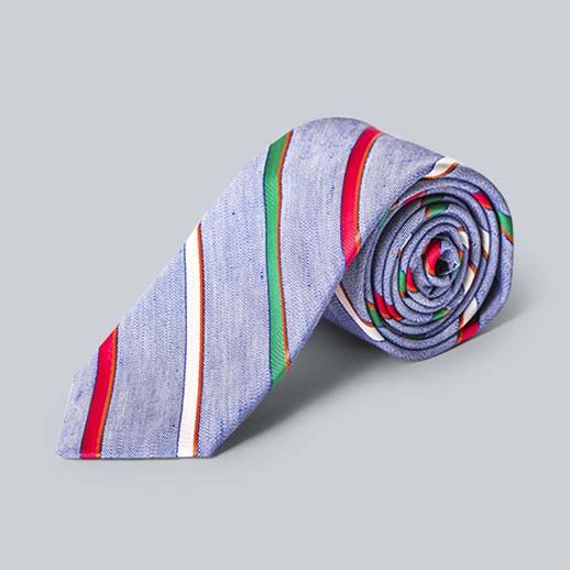 ブリューワーのカラフルなネクタイ