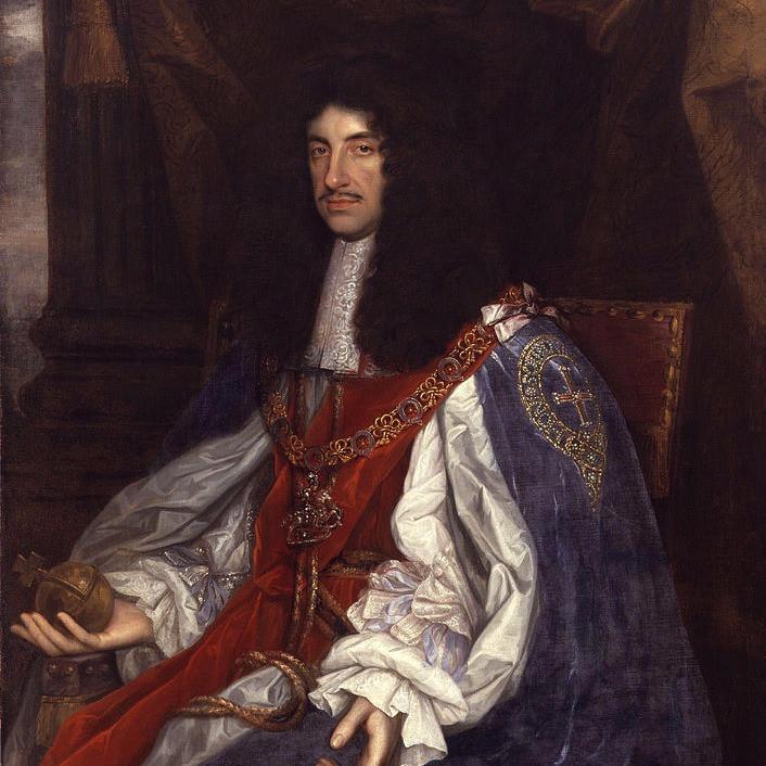 衣服改革宣言をしたチャールズ2世