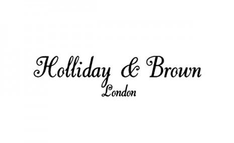 ホリデー&ブラウンのブランドロゴ。-蝶ネクタイ専門店ダイヤモンドヘイク