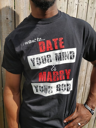 Date Your Mind Male T-Shirt
