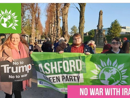 Stop the War Protest: No War with Iran