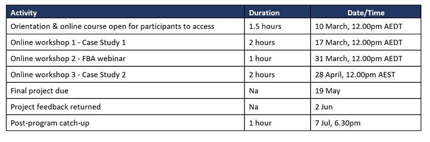 Schedule - Advising Business Families.jp