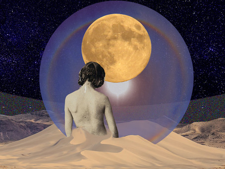 Oracle Reading: Lunar Eclipse, Surrender in the Aftermath