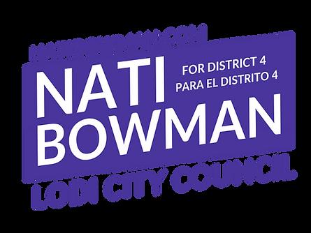 Nati Bowman Campaign Sign Transparent v1