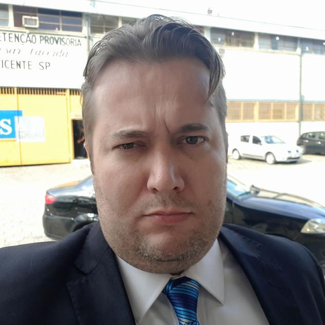 Criminalista Dr. Enio Pestana no CDP de SV