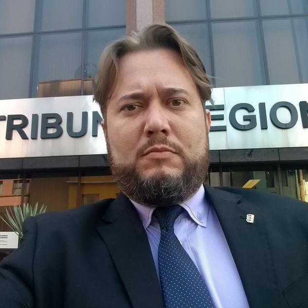 Enio Pestana no Tribunal Regional Federal