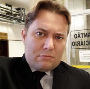 Dr. Enio Pestana no Palntão do Forum Criminal de Santos