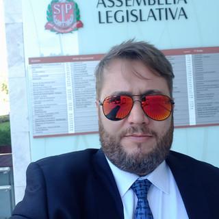 Dr. Enio Pestana na ALESP