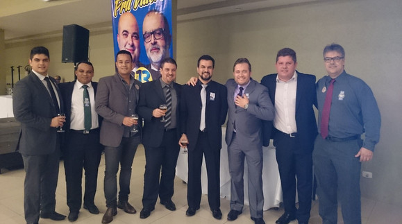 Advogados de Santos apoaindo Enio Pestana e seu presidente Ricardo Sayeg na Campanha para Presidencia da OAB SP 2015-2018