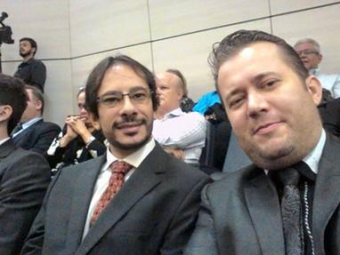 Conselhiero Estadual Dr. Dave Prada e Enio Pestana
