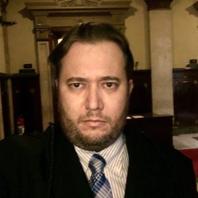 Advogado Enio Pestana no Tribunal