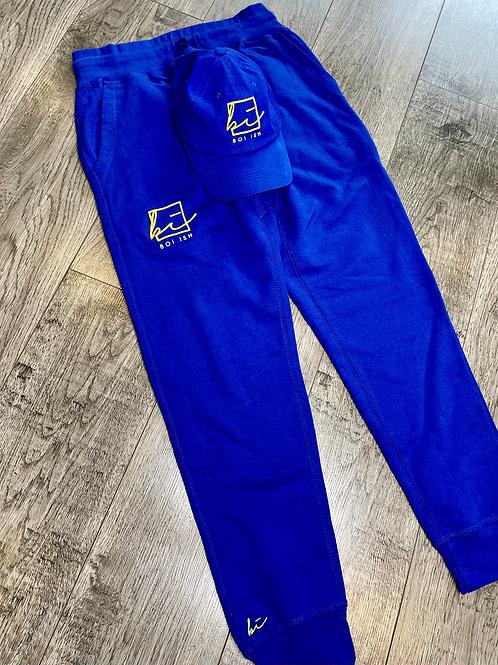 BOi iSH Premium Signature Jogger - Royal Blue