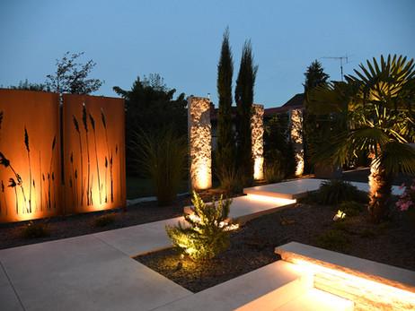 Gartenbeleuchtung, Privathaus