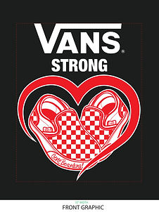 MENS_VANS STRONG TEE with Gone Boarding[