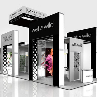 Markwins Beauty Brand Exhibit Desing