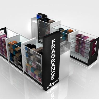 Island Kiosk Design