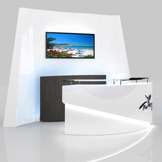 Front Reception Desk Design